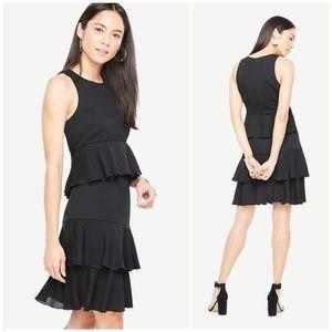 ✨Just in✨NWT Ann Taylor Ruffled Dress
